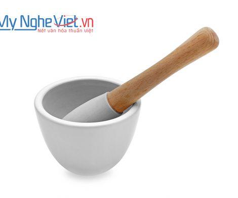 Cối giã loại A Mỹ Nghệ Việt MNV-MPA-0 size 0 (Trắng)