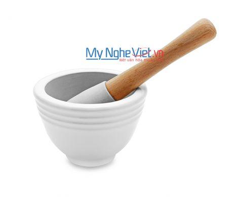 Cối giã loại B Mỹ Nghệ Việt MNV-MPB-0 size 0 (Trắng)