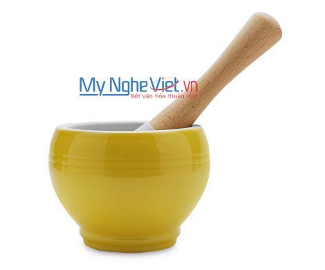 Cối giã loại C Mỹ Nghệ Việt MNV-MPC-3 size 3 (Vàng)