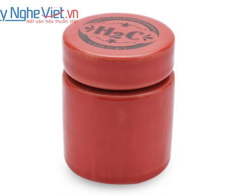 Hũ nghiền thuốc loại A màu đỏ Mỹ Nghệ Việt MNV-MGA