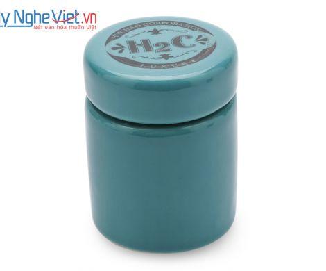 Hũ nghiền thuốc loại A màu xanh ngọc Mỹ Nghệ Việt MNV-MGA