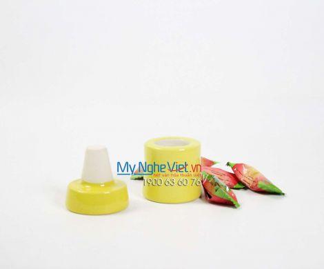 Hũ nghiền thuốc loại A màu vàng MNV-MGA