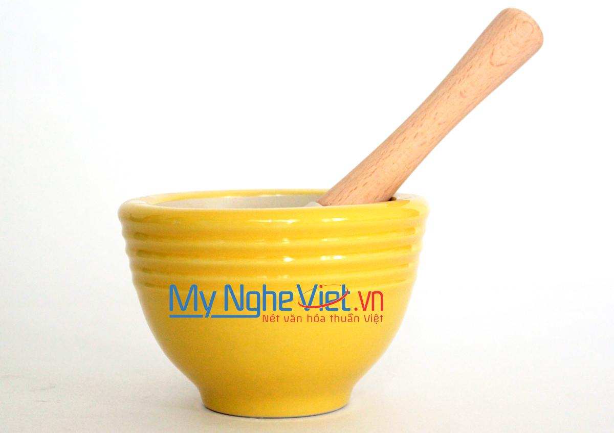 Cối giã loại B Mỹ Nghệ Việt MNV-MPB-0 size 0 (Vàng)