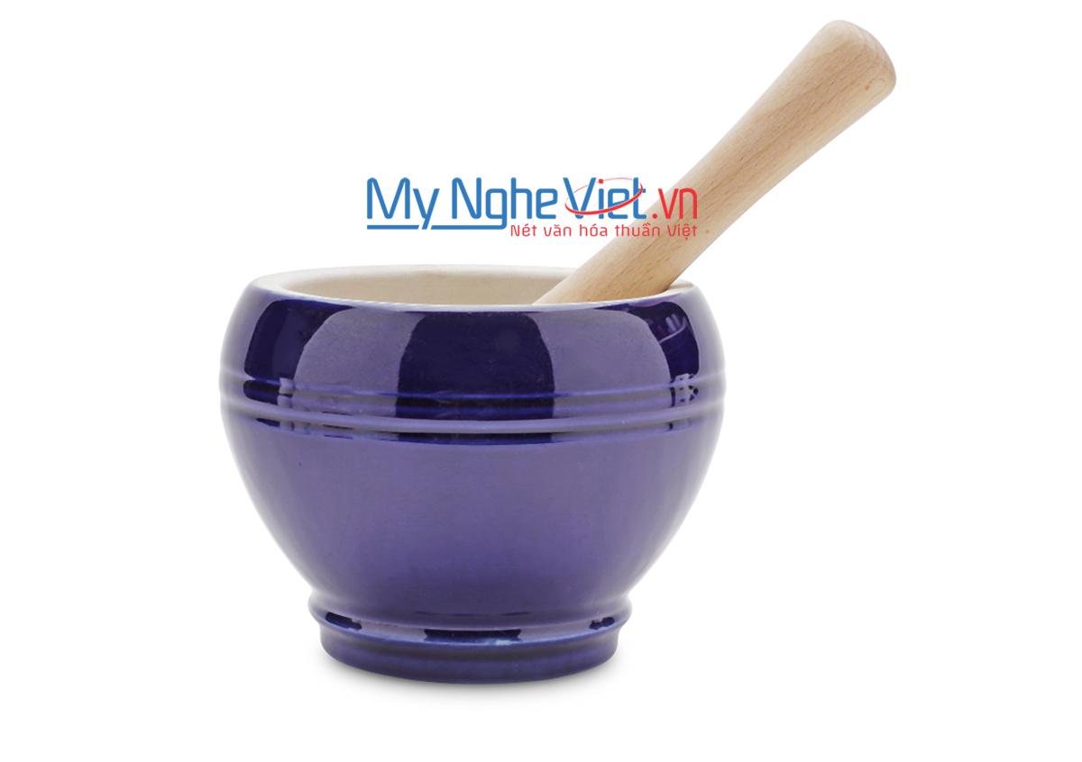 Cối giã loại C Mỹ Nghệ Việt MNV-MPC-2 size 2 (Xanh tím than)
