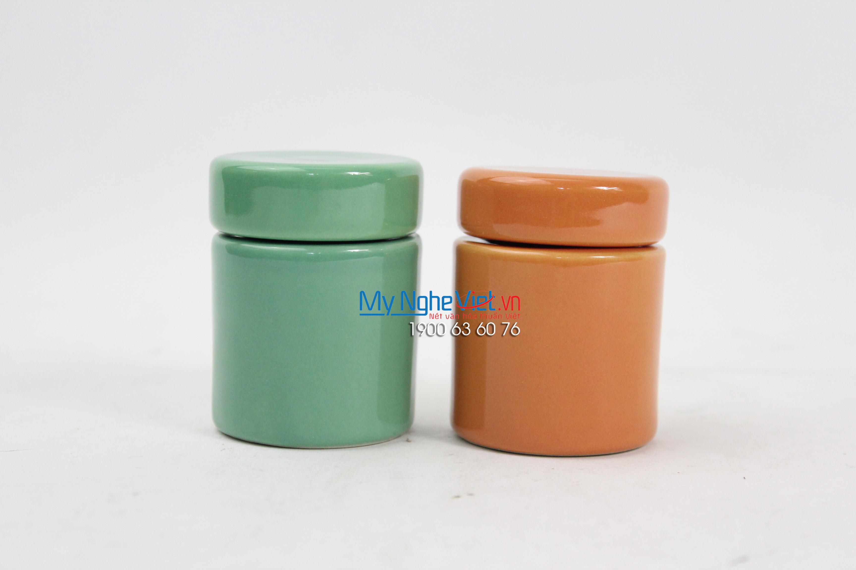 Combo 2 Hũ nghiền thuốc loại A  Mỹ Nghệ Việt MNV-MGA -1
