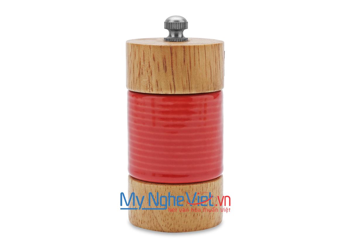 Cối xay tiêu loại B Mỹ Nghệ Việt MNV-SPGB-WC-0 size 0 (Đỏ)